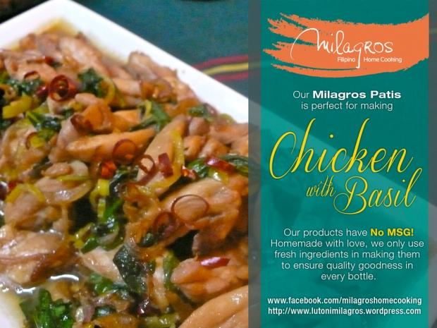 chicken Basil Stir fry